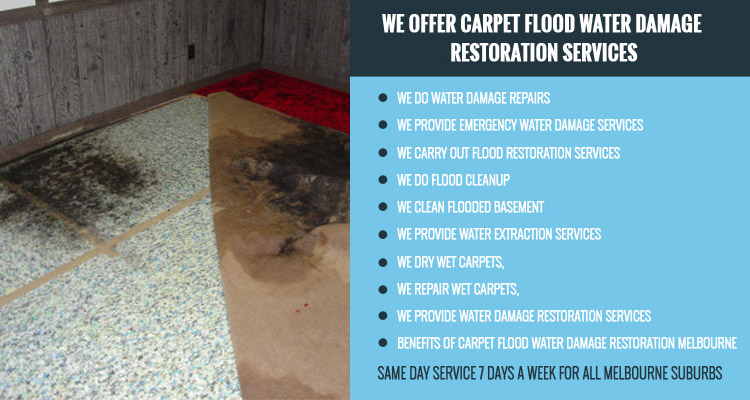 Carpet-Flood-Water-Damage-Restoration-Pentland Hills-Services